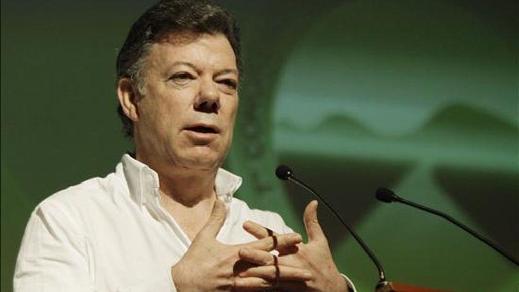 El presidente de Colombia, Juan Manuel Santos, nombró a Fernando Arboleda Ripoll como nuevo embajador en Ecuador. EFE/Archivo
