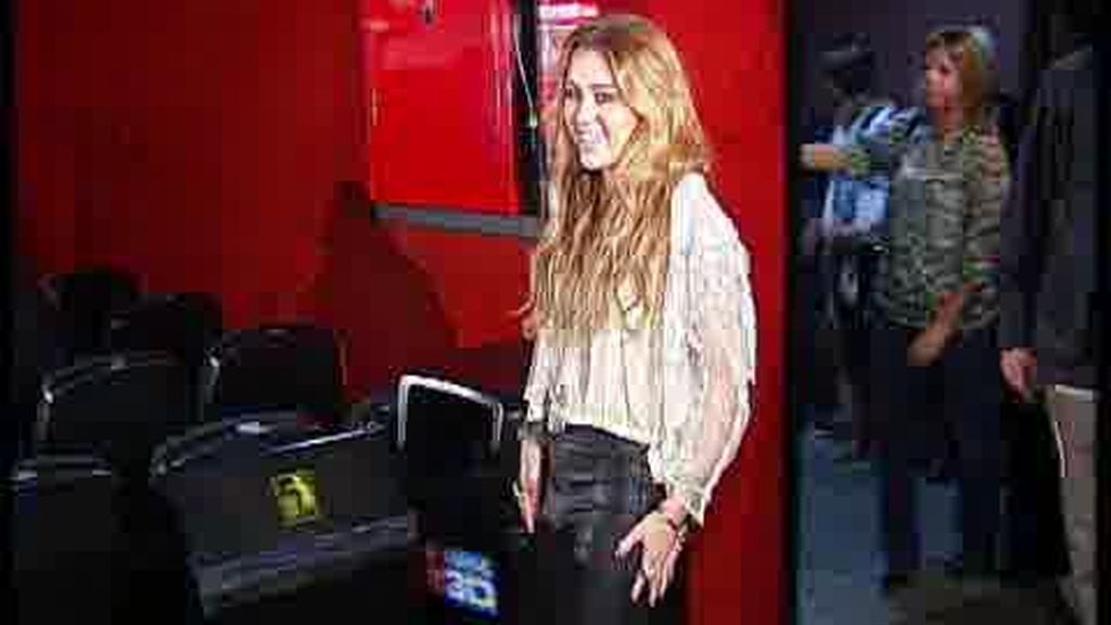 Encuentro de Miley Cyrus con sus fans