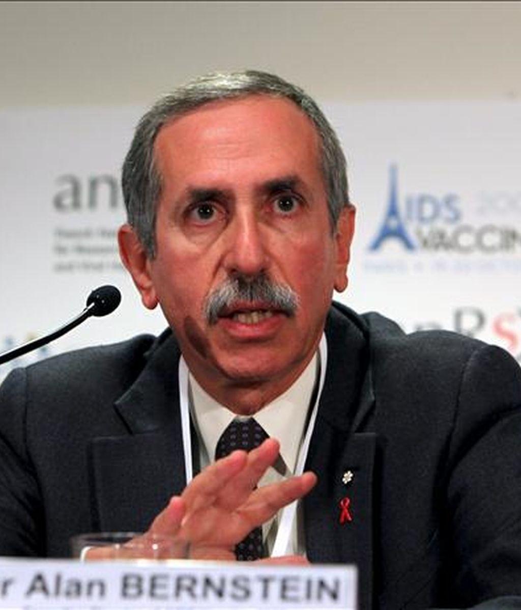 Alan Bernstein, director ejecutivo de la Iniciativa Global para una Vacuna contra el VIH. EFE/Archivo