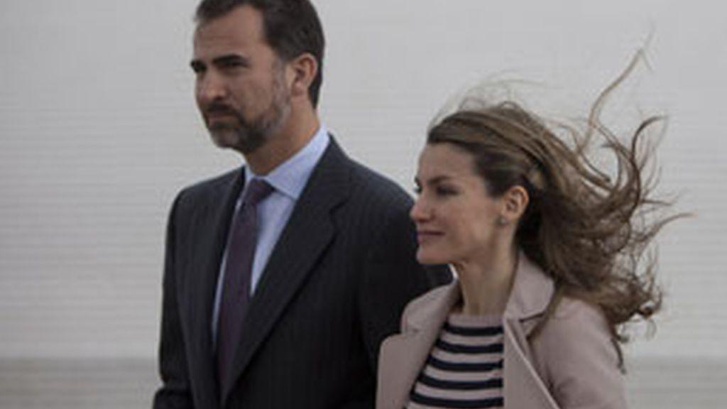 Los príncipes han visitado Jerusalén. Foto: GTres