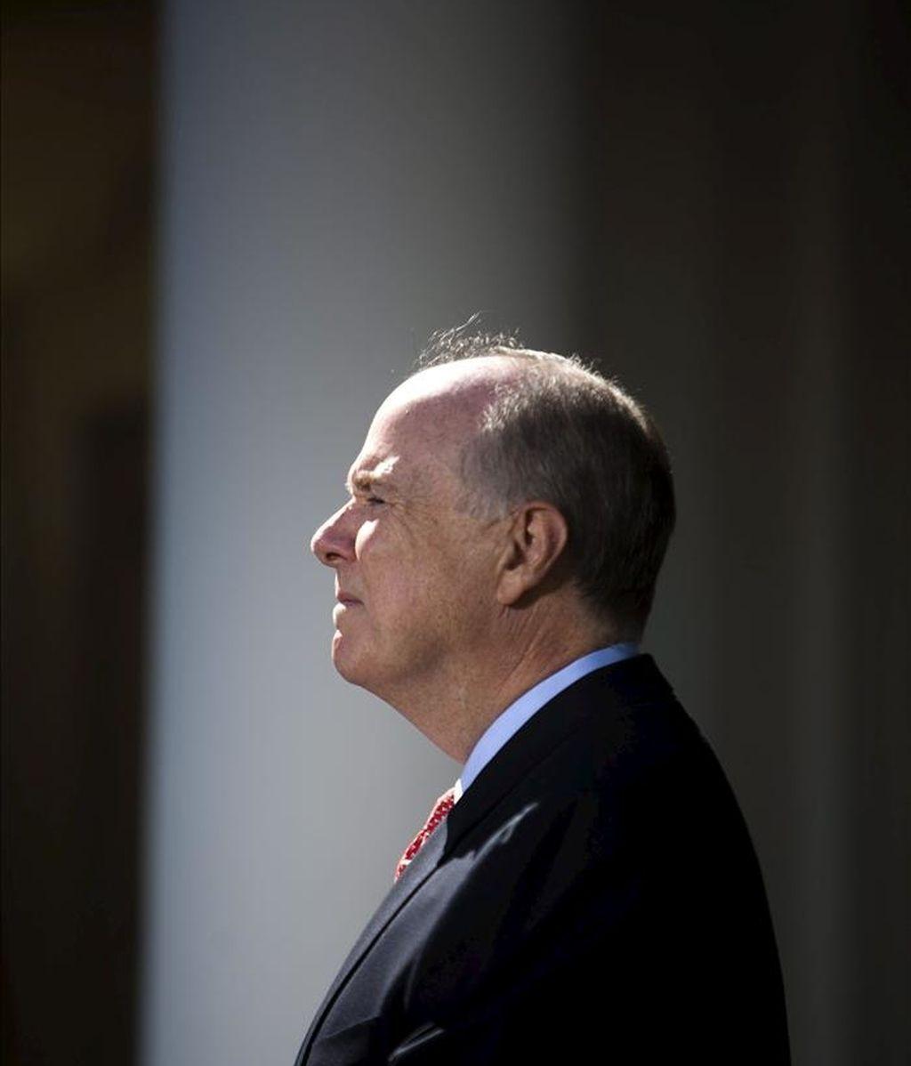 En la imagen, el nuevo consejero de Seguridad Nacional de la Casa Blanca, Tom Donilon. EFE/Archivo