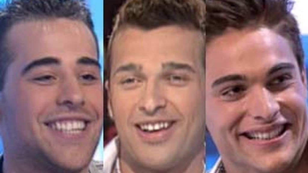 Luis Alberto, Jonathan y Pedro