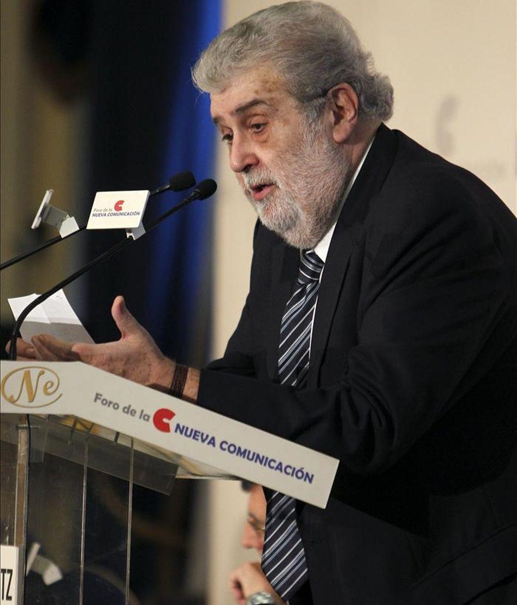 El presidente del Grupo Planeta y de Antena 3 Televisión, José Manuel Lara Bosch. EFE/Archivo