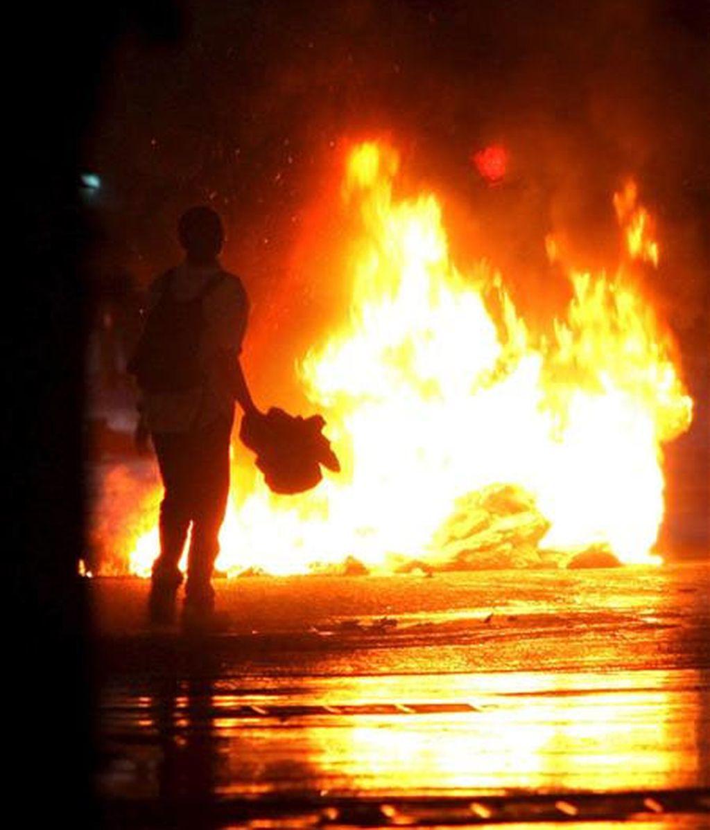 Los enfrentamientos han dejado dos víctimas mortales. Vídeo:Informativos Telecinco