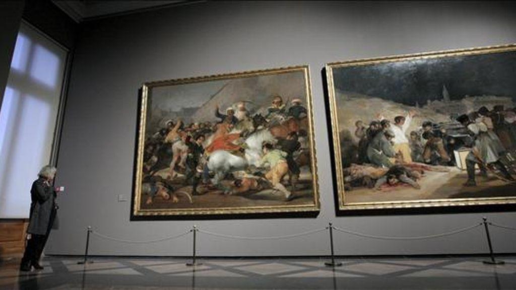 """Vista parcial de la exposición """"Goya en tiempos de guerra"""", que se instaló en el Museo del Prado. EFE/Archivo"""