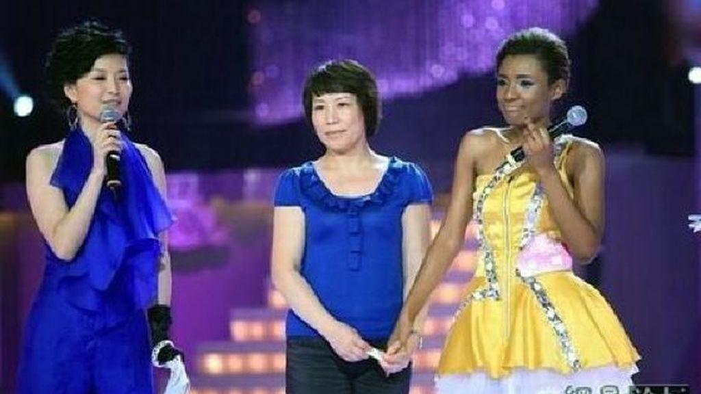 Lou Jing, la china color chocolate