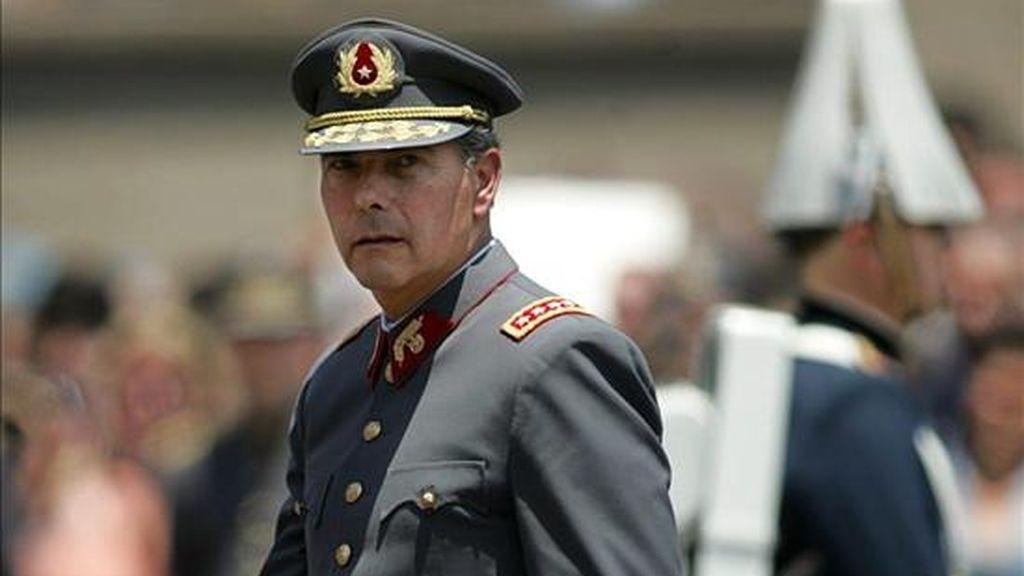 El encuentro se inaugurará este martes con una ceremonia encabezada por el comandante en jefe del Ejército chileno, Óscar Izurieta, en la Escuela de Suboficiales del Ejército de este país. EFE/Archivo