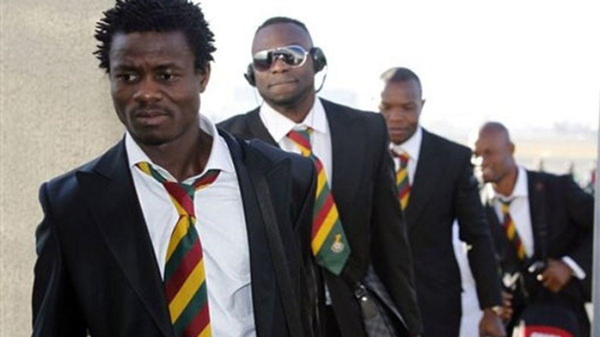 La selección de Ghana alcanzó los cuartos de final del Mundial