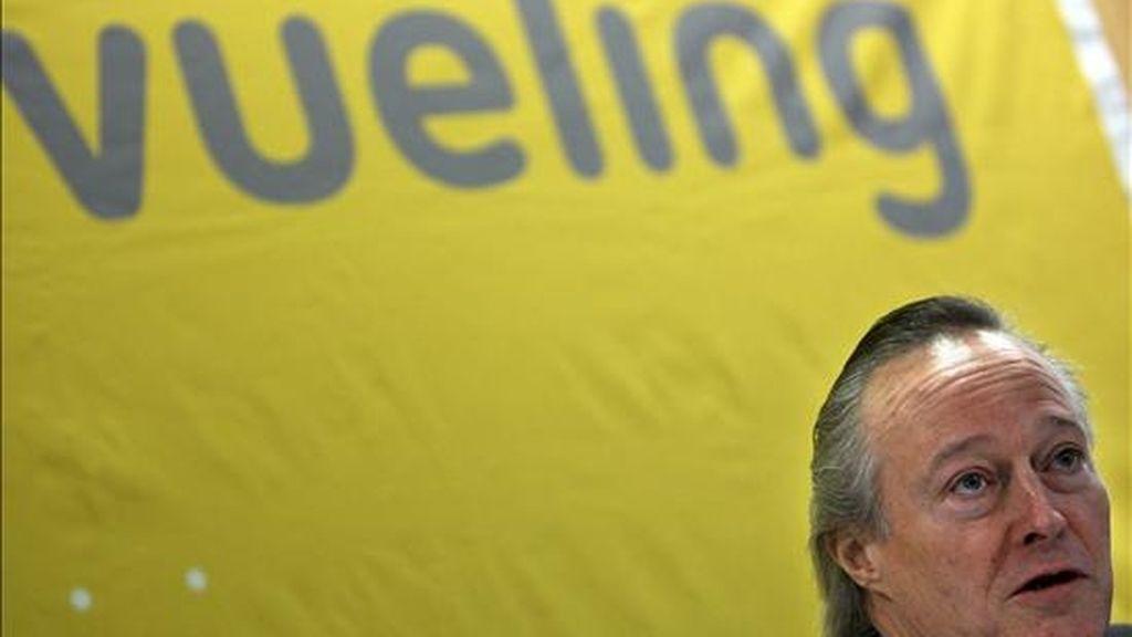 En la imagen, el presidente de Vueling, Josep Piqué. EFE/Archivo