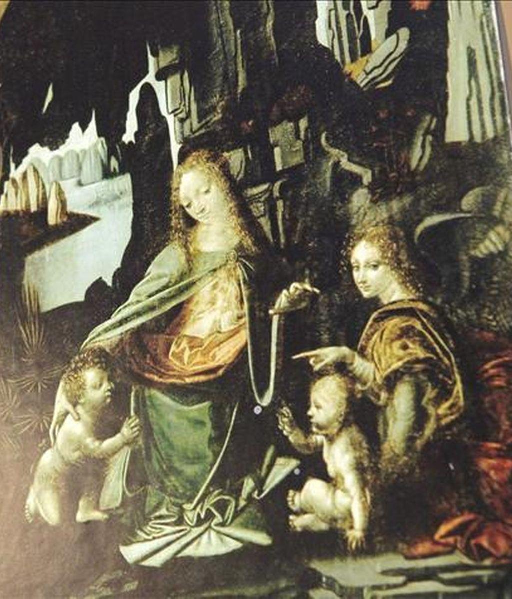"En la imagen, la obra ""La virgen de las rocas"", de Leonardo da Vinci. EFE/Archivo"
