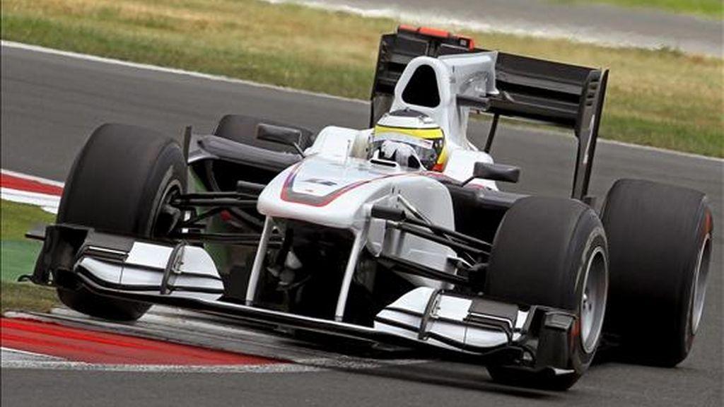 El piloto español de Fórmula Uno Pedro de la Rosa, de BMW Sauber. EFE/Archivo