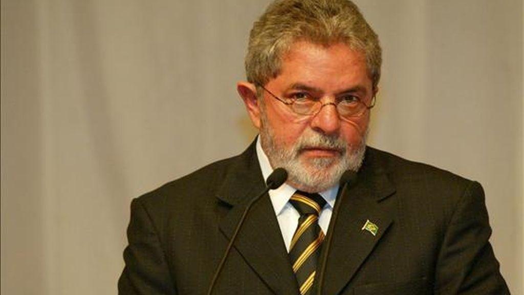 """Será la primera vez que un jefe de Estado brasileño participe en una cumbre africana, a la que Lula ha sido invitado por su interés """"en promover las relaciones entre África y América del Sur"""". EFE/Archivo"""