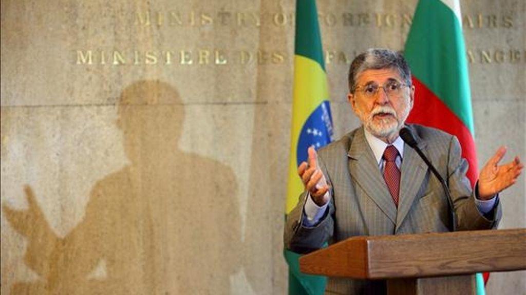 El ministro brasileño de Asuntos Exteriores, Celso Amorim. EFE/Archivo