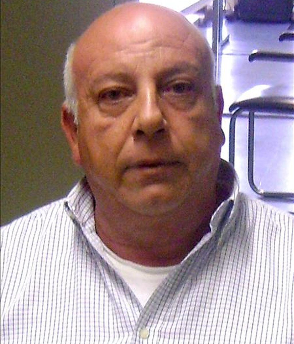 Fotografía sin fecha cedida por la Policía italiana este jueves que muestra al jefe mafioso Vittorio Pirozzi. EFE