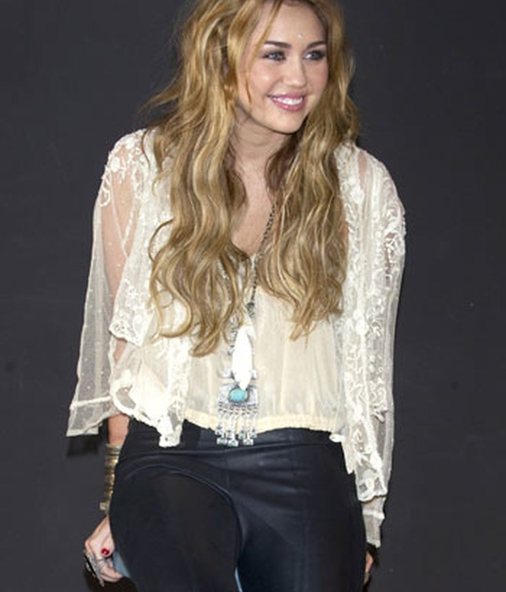 Miley Cyrus en Madrid