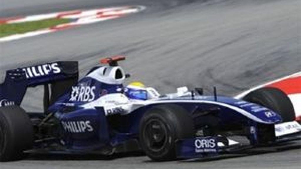 Nico Rosberg ha marcado el mejor tiempo. Foto: AP
