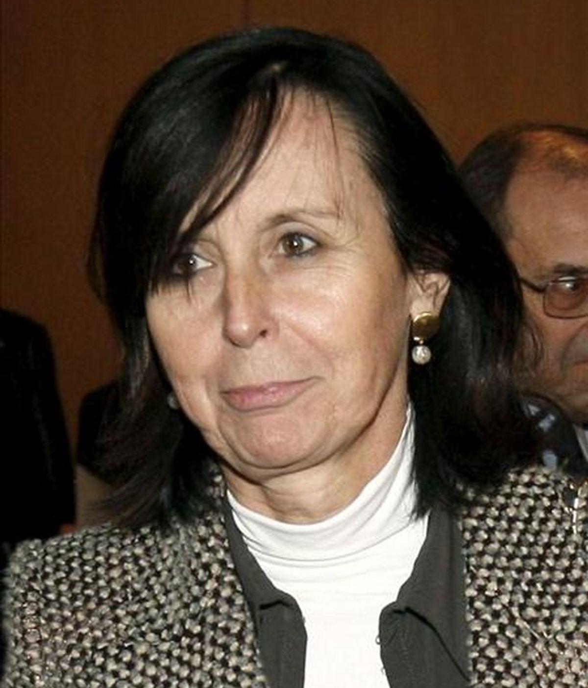 La presidenta del Tribunal Constitucional, María Emilia Casas. EFE/Archivo