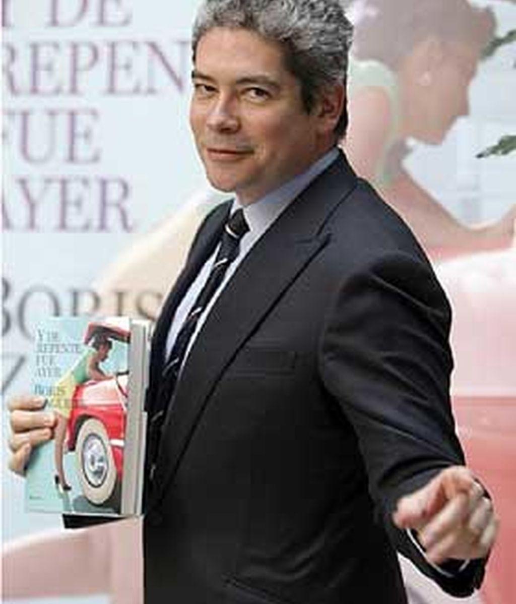 Boris Izaguirre, finalista del Premio Planeta 2007, publicó su última novela 'Y de repente fue ayer' el pasado mes de abril. FOTO: EFE