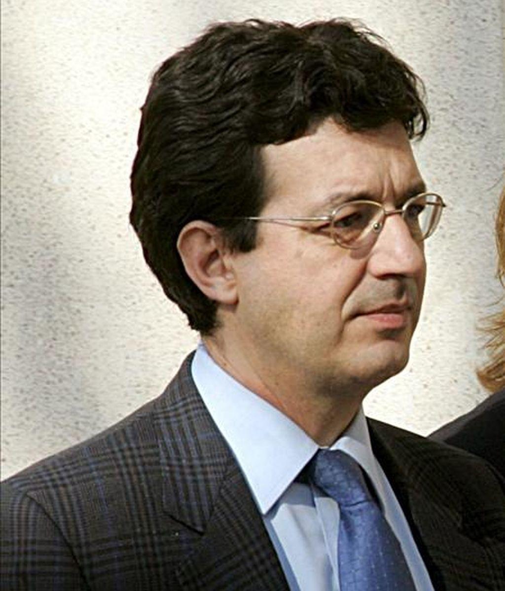 El juez de la Audiencia Nacional Fernando Andreu, encargado de la investigación sobre el ataque israelí en la franja de Gaza del 22 de julio de 2002. EFE/Archivo