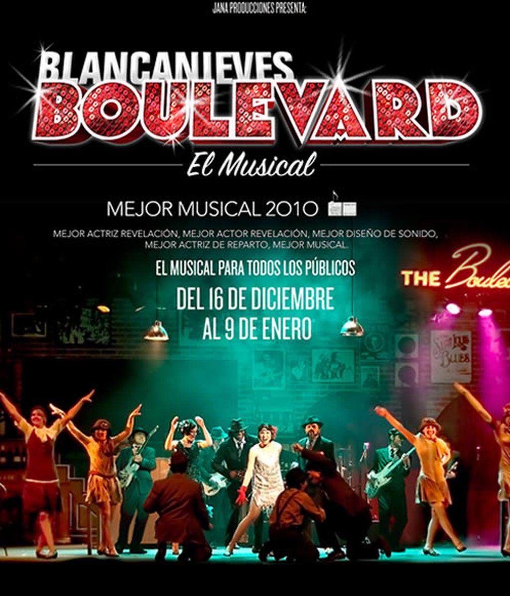 Consigue una entrada doble para el musical de Blancanieves Boulevard en Madrid
