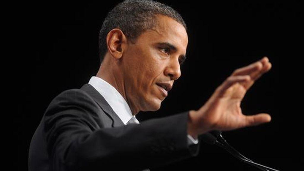 El presidente de Estados Unidos, Barack Obama, fue invitado a hablar ante el consejo ejecutivo de la AFL-CIO, que hoy inicia una reunión de dos días en Washington. EFE/Archivo
