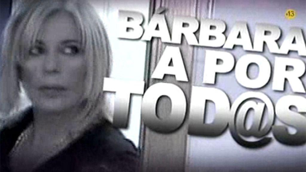 Bárbara Rey planta cara a sus frentes