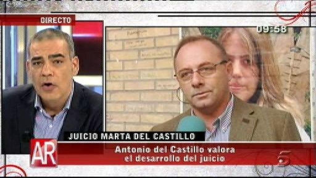 """Antonio del Castillo: """"No sé si la madre del Cuco dirá la verdad"""""""