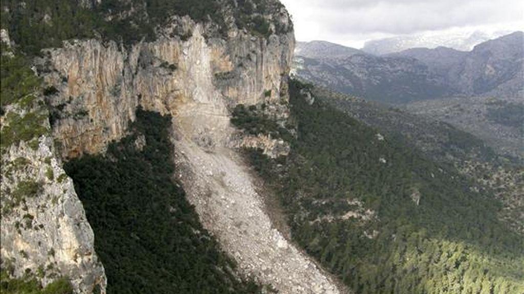 En la imagen, la Sierra de Tramuntana. EFE/Archivo