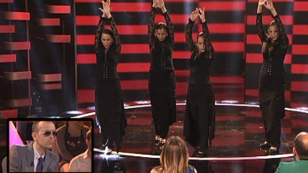 Quebrantos, baile flamenco, de 21 a 29 años
