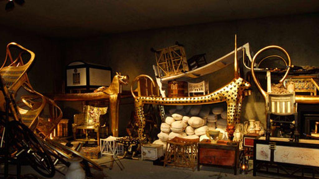 La tumba de Tutankhamón y sus tesoros