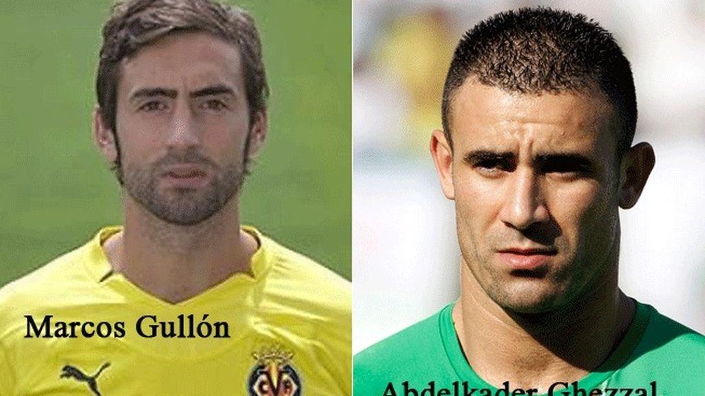 Los nuevos fichajes de Racing y Levante Marcos Gullón y Abdelkader Ghezzal