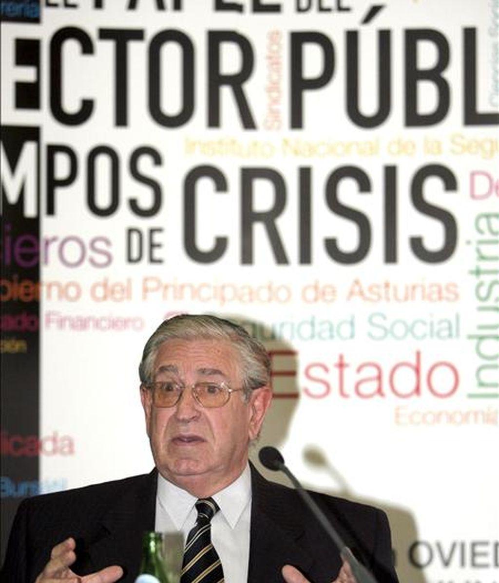 El director general de la Fundación de las Cajas de Ahorros (FUNCAS), Victorio Valle Sánchez. EFE/Archivo