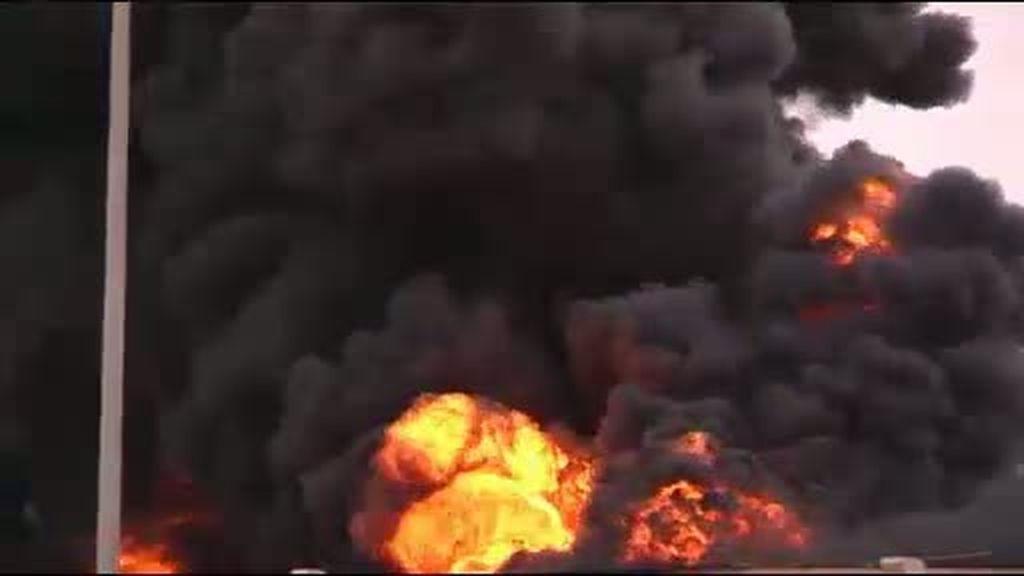 Explosión en Sirte