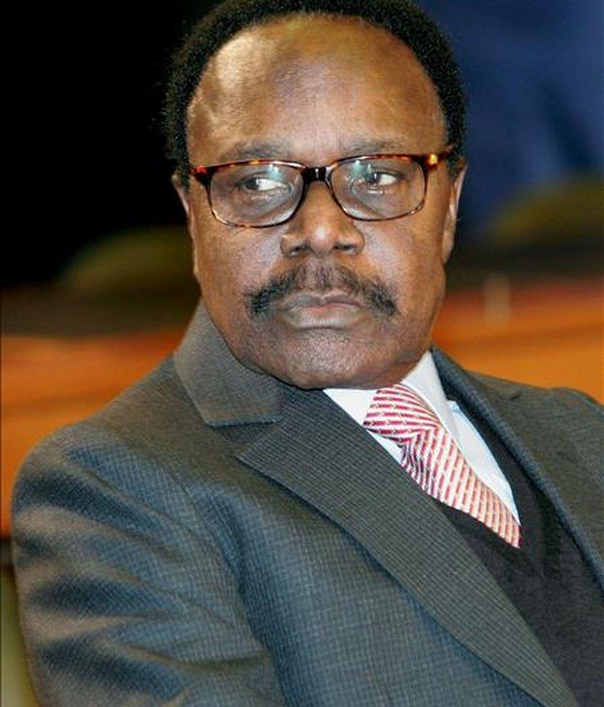 El presidente de Gabón, Omar Bongo. EFE/Archivo