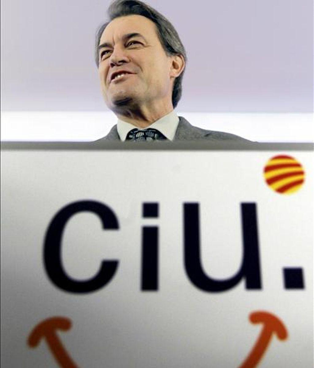 El presidente de CiU y futuro presidente de la Generalitat, Artur Mas. EFE/Archivo