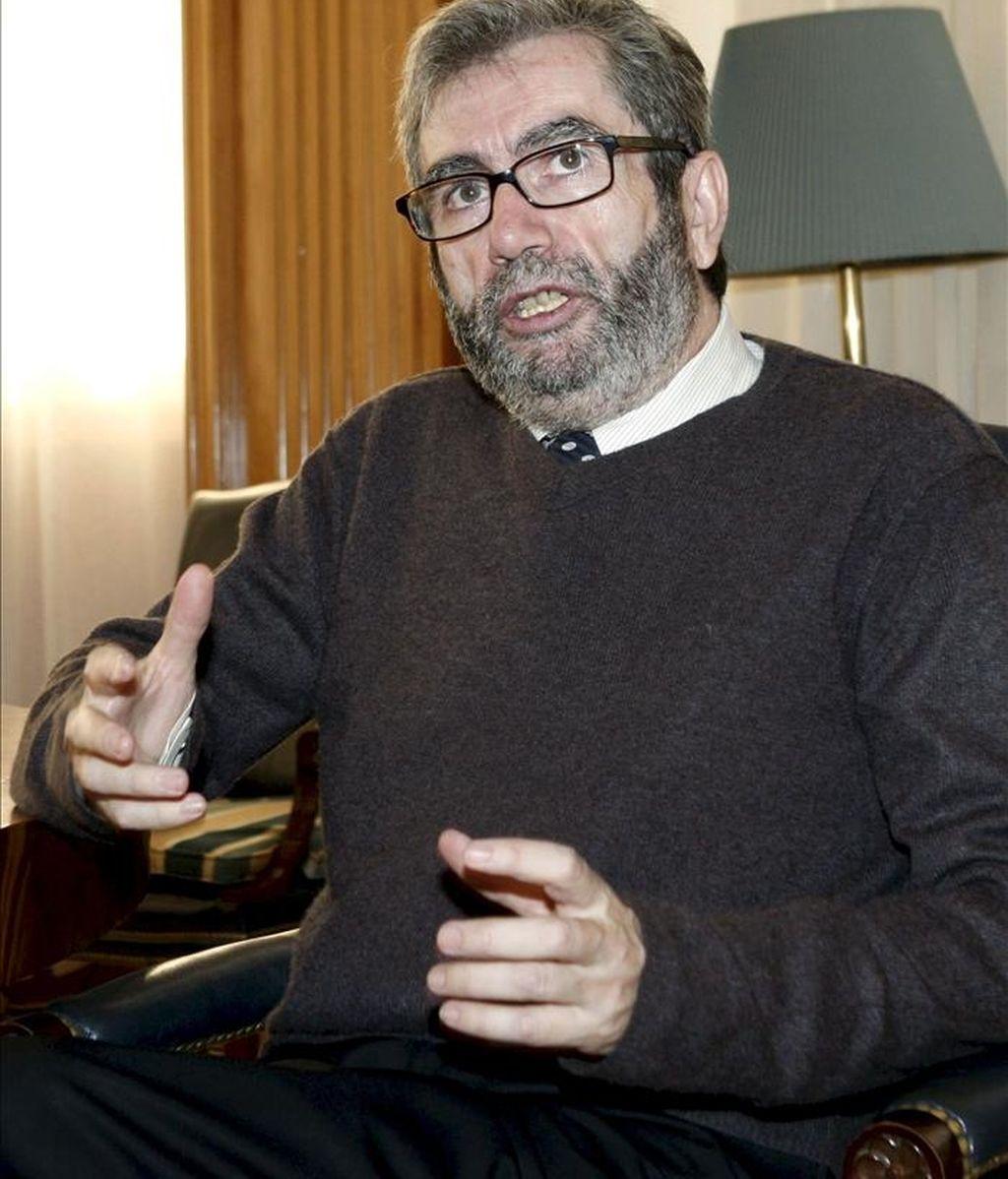 """Muñoz Molina, considerado uno de los autores de habla hispana más destacados de las últimas décadas, acaba de aterrizar en Buenos Aires para promocionar su más reciente novela, """"La noche de los tiempos"""". EFE/Archivo"""