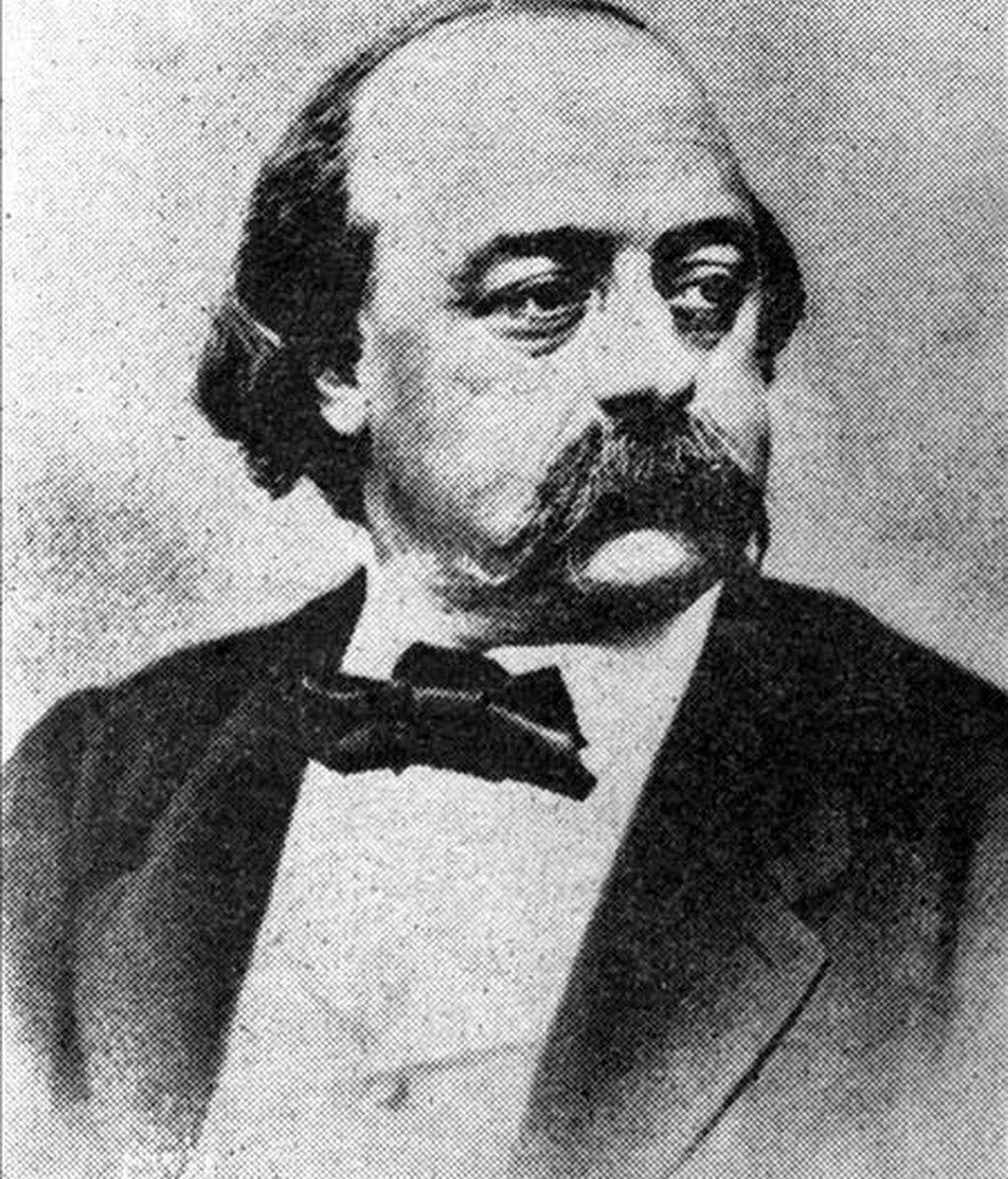 """Imagen del novelista  francés Gustav Flaubert (1821-1880). Su obra """"Madame Bovary"""" está disponible en internet. EFE/Archivo"""