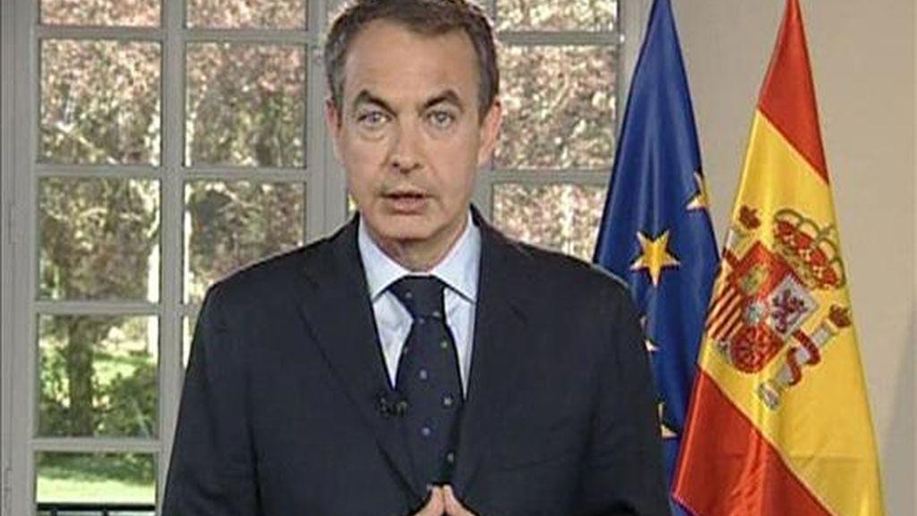Un día muy completo para Zapatero. Vídeo: Informativos Telecinco