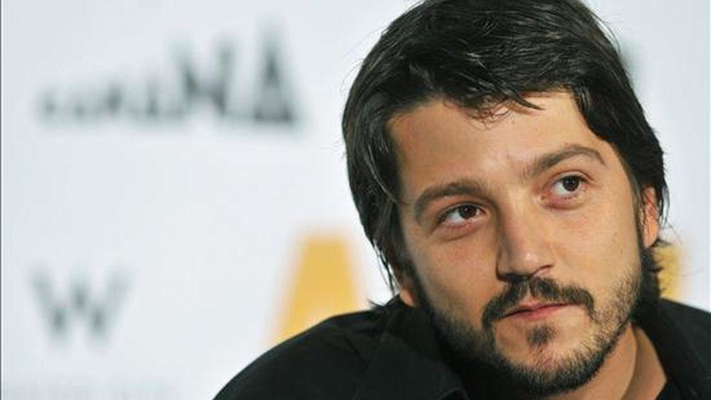 El actor mexicano Diego Luna. EFE/Archivo