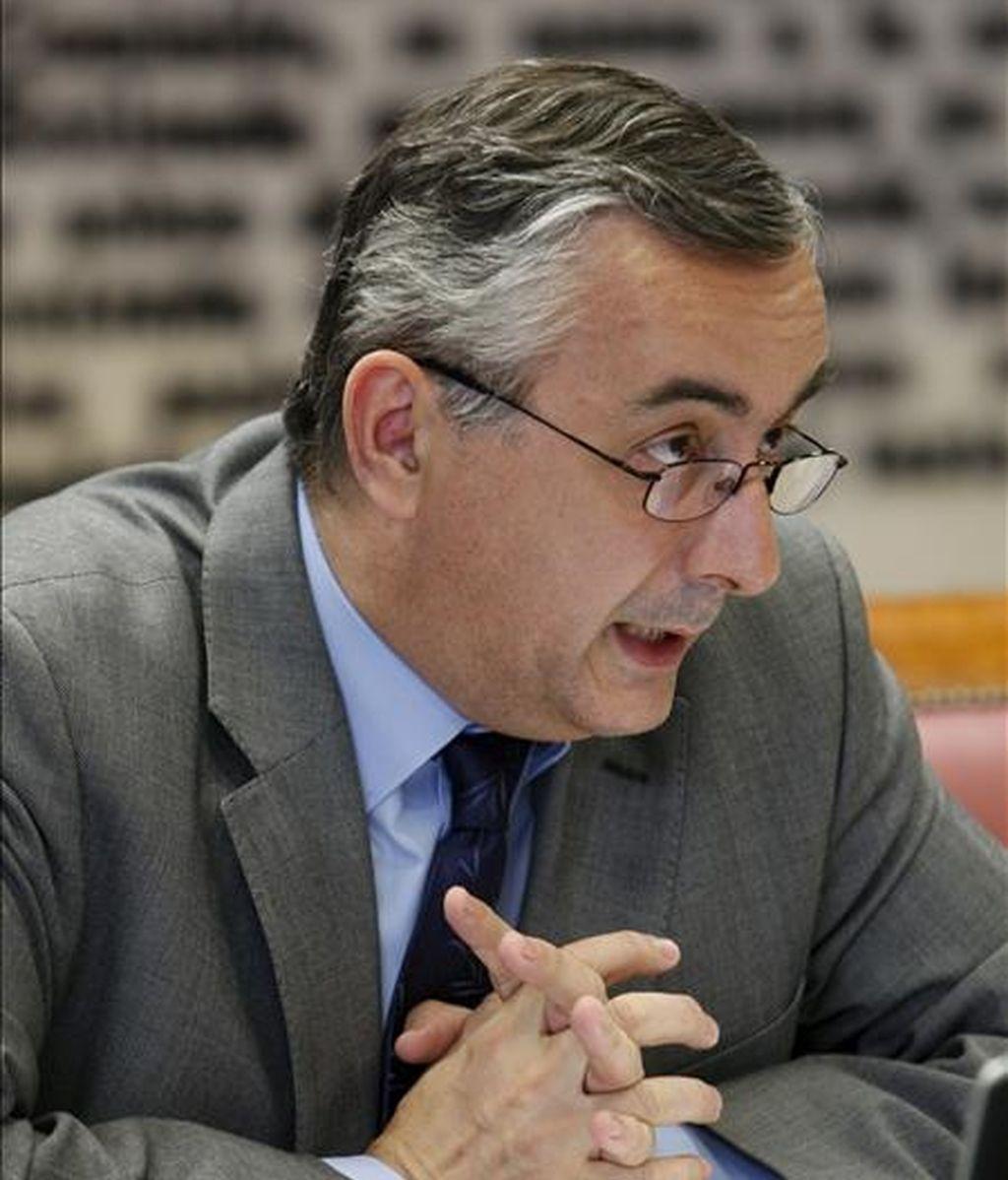 En la imagen, el secretario de Estado de Hacienda, Carlos Ocaña. EFE/Archivo