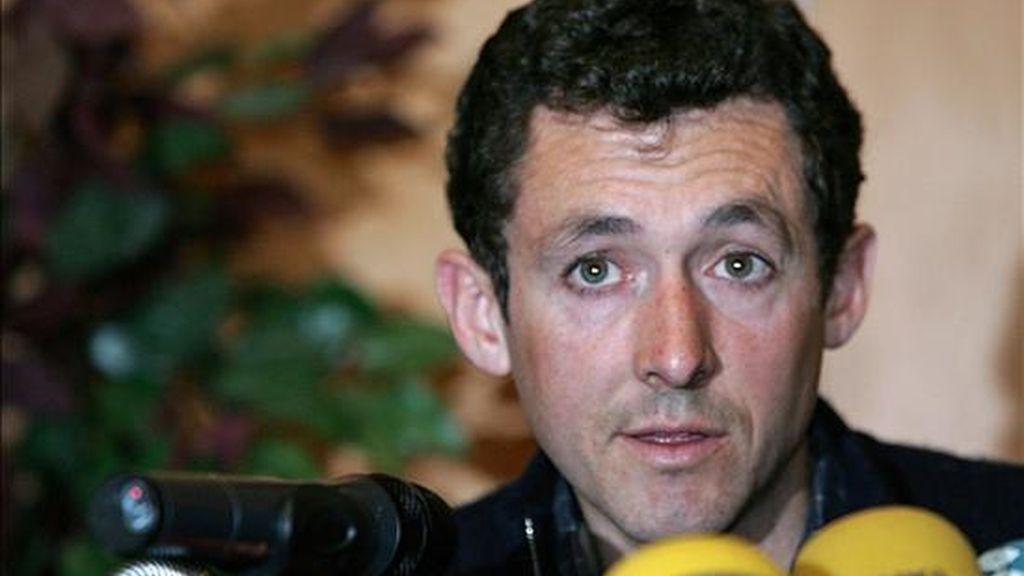 El ciclista español Roberto Heras. EFE/Archivo