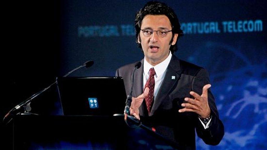 El presidente ejecutivo de Portugal Telecom (PT), Zeinal Bava. EFE/Archivo