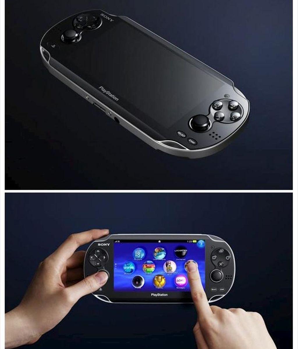Fotografía facilitada por Sony de la nueva Next Generation Portable, una nueva consola portátil con conexión 3G y pantalla táctil que saldrá a la venta este año y que ha sido presentada por el gigante japonés en Tokio. EFE/Archivo