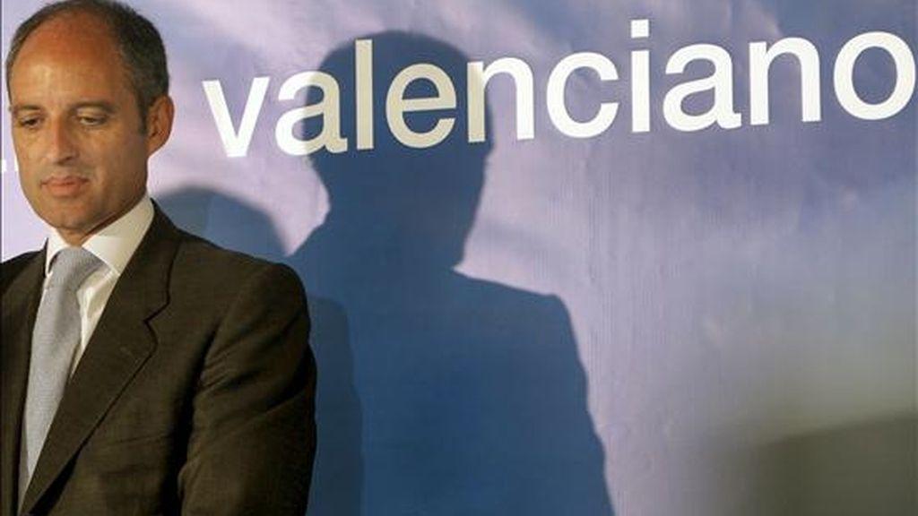 El presidente de la Comunidad Valenciana, Francisco Camps. EFE/Archivo