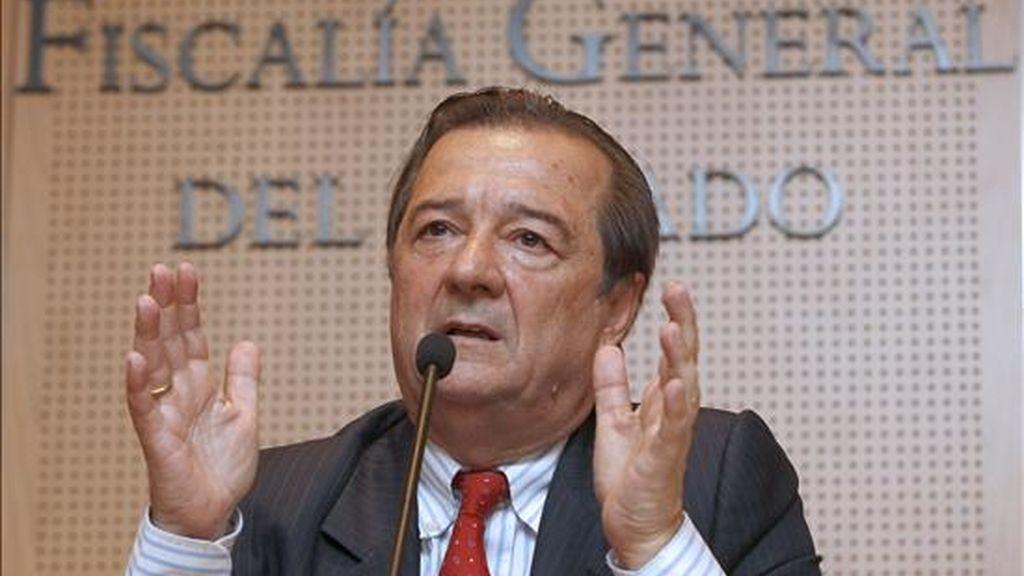 El fiscal coordinador de Seguridad Vial, Bartolomé Vargas. EFE/Archivo