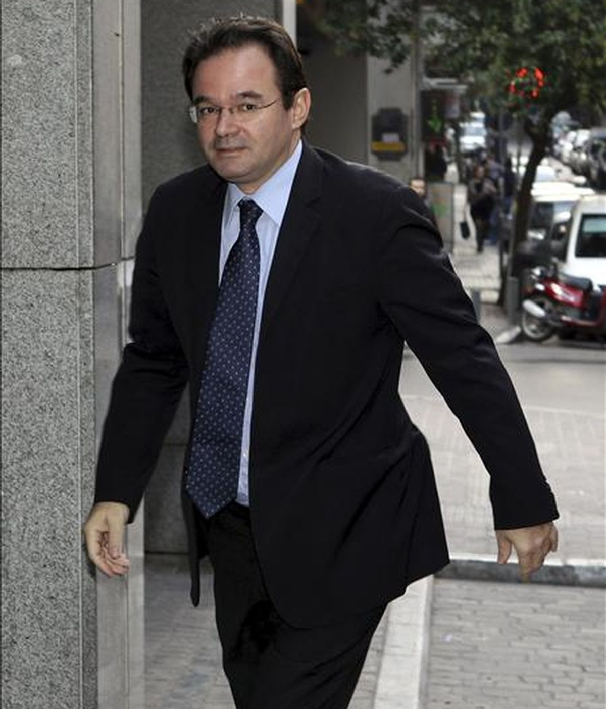 El ministro de Finanzas griego, George Papaconstantinou. EFE/Archivo