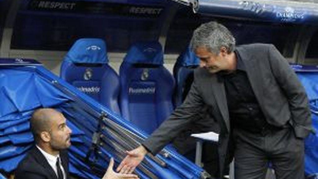 Mourinho, en el punto de mira de la UEFA. Foto: EFE