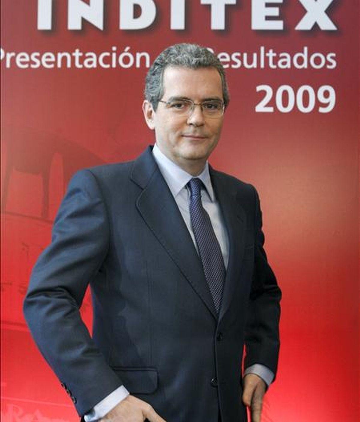 El vicepresidente de Inditex, Pablo Isla. EFE/Archivo