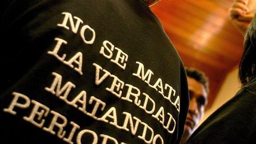 """La Fundación para la Libertad de Prensa (Flip) subrayó que el que no se registraran asesinatos en todo el año """"constituye un hecho para destacar en un país como Colombia, en el que se han asesinado a más de 130 periodistas en los últimos 30 años"""". EFE/Archivo"""