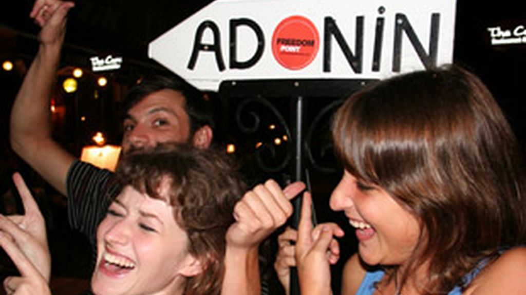 Claudia, Nina y Quique
